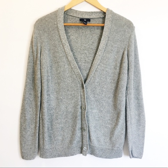 8c2b4d691 GAP Sweaters | V Neck Button Down Sweatercardigan Sz Medium | Poshmark